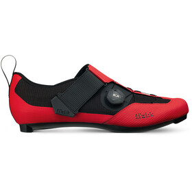 Fizik Transiro Infinito R3 Chaussures de triathlon, red/black